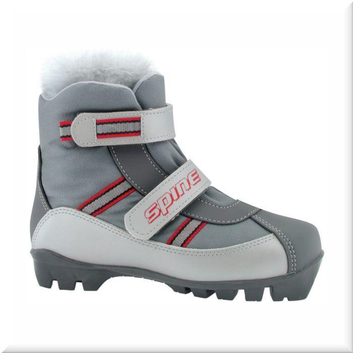 Лыжные ботинки Spine NNN Baby (101) синт.