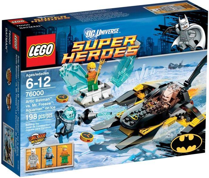 76000 Бетмен против мистера Фриза: Аквамен на льду Конструктор ЛЕГО Супергерои