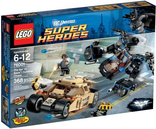 76001 Бэт против Бэйна: Погоня за Тумблером Конструктор ЛЕГО Супергерои