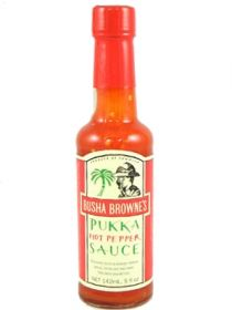 Острый соус Busha Browne's Pukka Hot Pepper Sauce