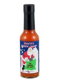 Острый соус Santa's Smokin' Chimney Red Habanero