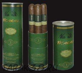 Подарочный набор сигар Nicarao Classico Julieta (3 шт, Никарагуа)
