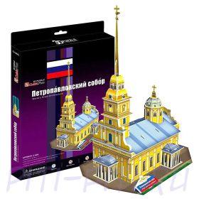 CubicFun. 3D пазлы. Соборы и храмы. Петропавловский собор