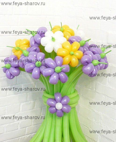 Букет цветов 17 шт