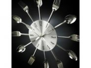 "Кухонные часы ""столовый набор"""