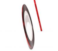 Декоративная самоклеющаяся лента (0,8 мм) №3 Цвет: светло-красный