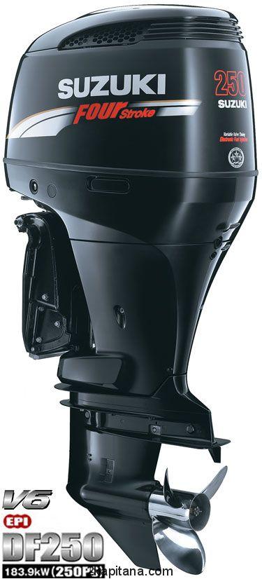 Лодочный мотор Suzuki DF 250 TX (Сузуки)