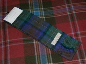 шарф 100% шерсть ,  расцветка Isle of Skye - Айл оф Скай, плотность 5