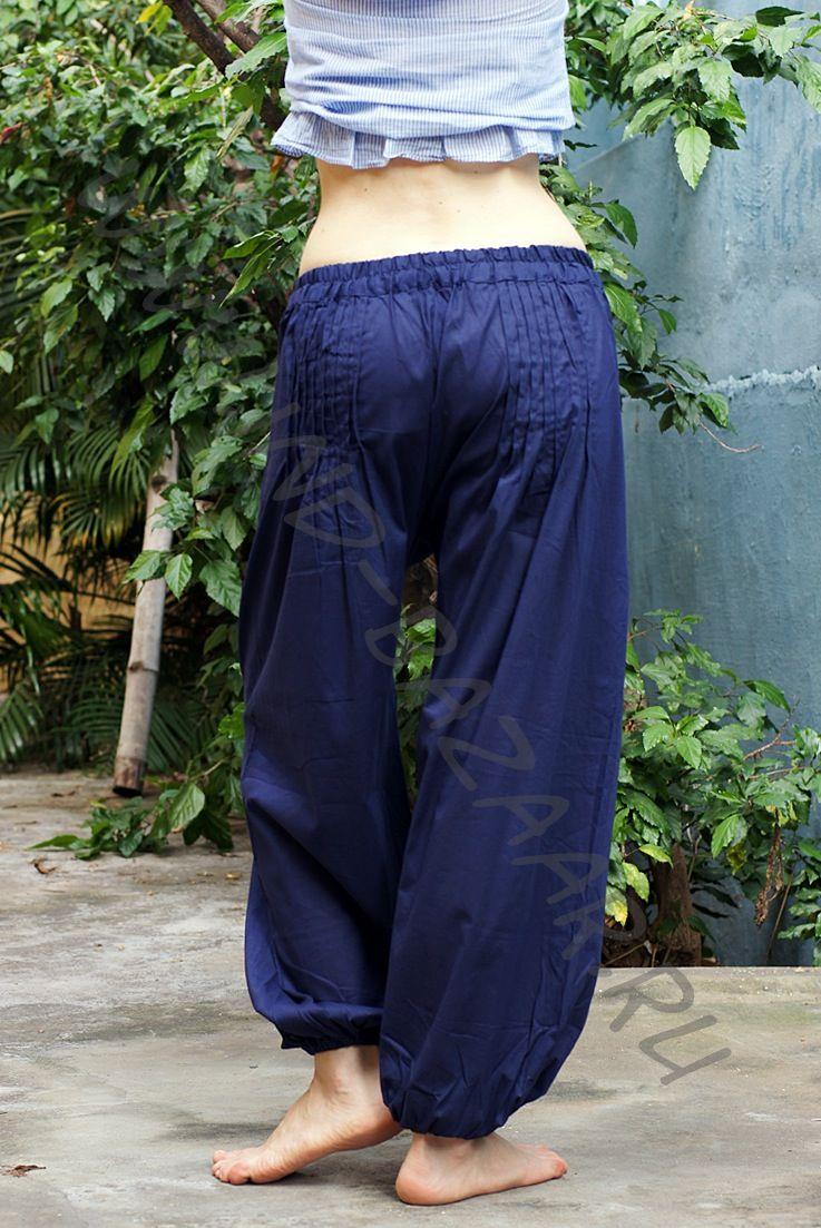 Купить индийские и восточные шаровары оптом. Штаны из Индии, интернет магазин