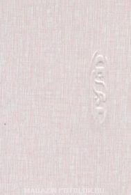 Закрывающий, пристенный П-профиль, B24, рогожка розовая