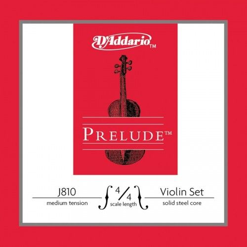 D'ADDARIO J810-4/4M PRELUDE Струны для скрипки 4/4