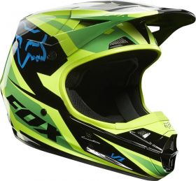 Мотошлем Fox Racing V1 Race Helmet ECE green