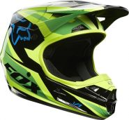 Мотошлем Fox Racing V1 Race Helmet ECE green