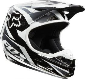 Мотошлем Fox Racing V1 Race Helmet ECE black