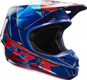 Мотошлем Fox Racing V1 Radeon Helmet ECE blue