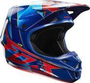 Мотошлем Fox Racing V1 Radeon Helmet ECE blue