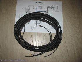Проводка DKW NZ-350 в тканевой оплётке