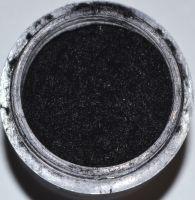 Кашемир чёрный для дизайна ногтей (маленькая банка)