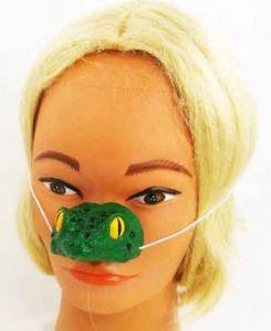 Нос лягушки