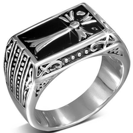 Перстень с Мальтийским крестом