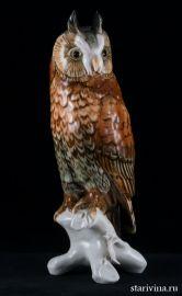 Ушастая сова, Karl Ens, Германия, сер. 20 века