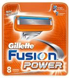 Cменные лезвия Gillette Fusion Power (8 шт.)