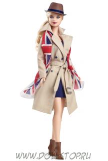 Коллекционная кукла Барби Соединенное Королевство - United Kingdom Barbie Doll