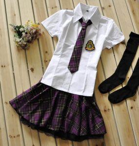 Японская школьная форма тёмно-фиолетовая