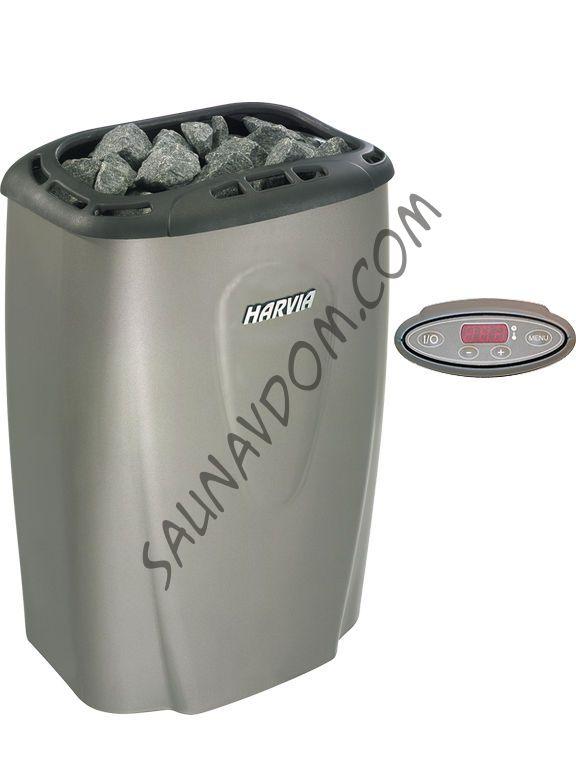 Электрическая печь Harvia Moderna V45Е Platinum