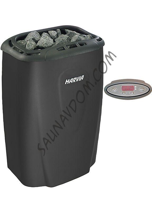 Электрическая печь Harvia Moderna V80Е Black
