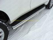 Зашита штатного порога 42.2 мм (TOYLCPR150-03) для Toyota Land Cruiser Prado 150 2013 -