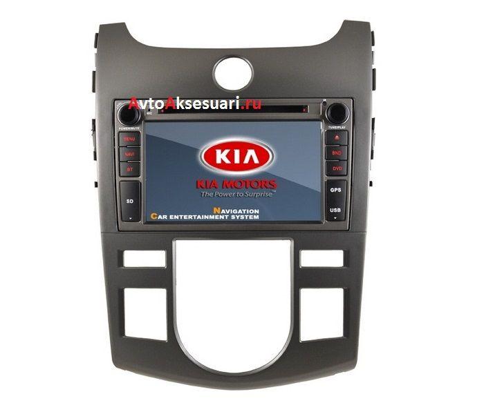 Штатная магнитола для Kia Cerato 08-11