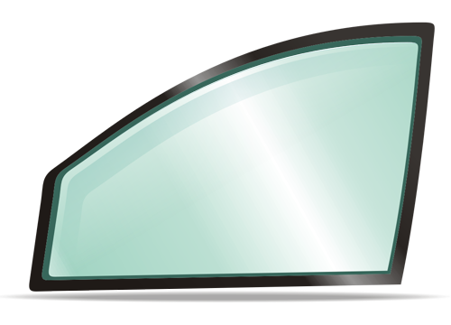Боковое левое стекло SAAB 9000 1985-1998