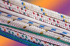 Веревка плетеная полиамидная 24-прядная (якорная)