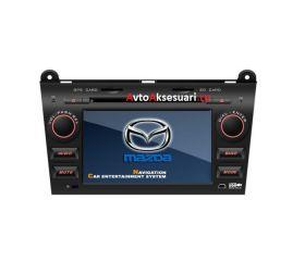 Штатная магнитола для Mazda 3 - 2004-09