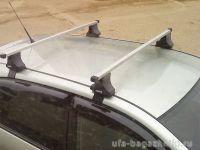 Багажник на крышу Toyota Avensis, Атлант, прямоугольные дуги