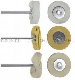 FIT 36920 Круги полировочные , набор 3шт