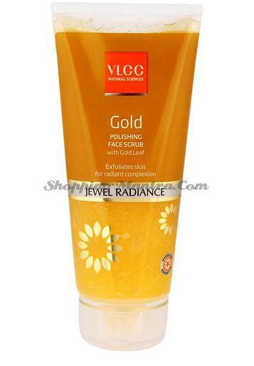 Cкраб с частичками золота для сияния кожи лица VLCC Gold Face Scrub