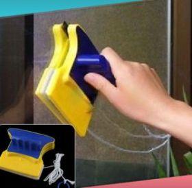 Магнитная щётка для мытья окон с двух сторон
