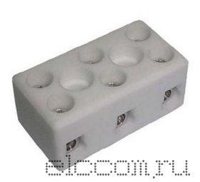 Колодка клеммная 3*3 керамика 10А