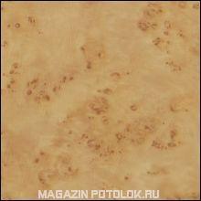 Пристенный П-профиль к рейке ППР-084, карельская береза