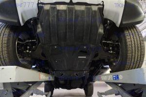 Защита картера + КПП + РК, АВС-Дизайн, композит 8мм