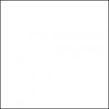 """Закрывающий, пристенный П-профиль, к """"Бард"""" КФ, белый матовый"""