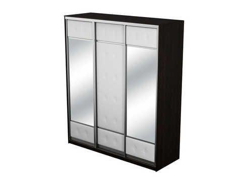 Шкаф трехдверный Неро/Сезия | Орматек