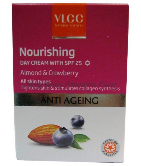 Омолаживающий дневной крем для лица с фактором защиты SPF25 VLCC Anti Ageing Day Cream