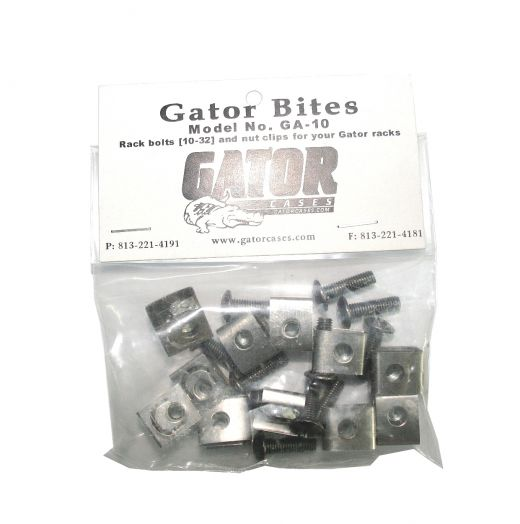 GATOR GA-10 Комплект крепежа для рэковых кейсов