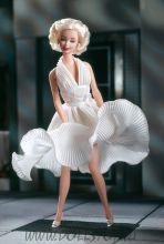 Коллекционная кукла Барби как Мерилин Монро в фильме Зуд седьмого года - Barbie аs Marilyn in the White Dress from The Seven Year Itch