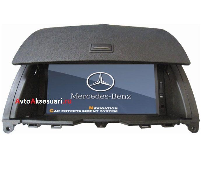 Штатная магнитола для Mercedes Benz C-class W204