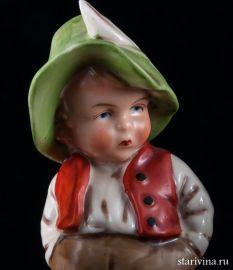 Мальчик в зеленой шляпе, Wagner & Apel, Германия, 1950 гг