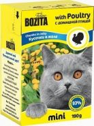 BOZITA with Poultry - Кусочки в желе с домашней птицей (190 г)